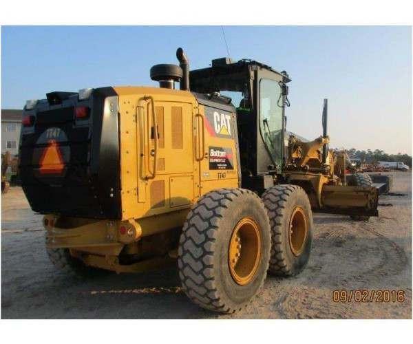 2014 Caterpillar 140M2 Motor Grader 3