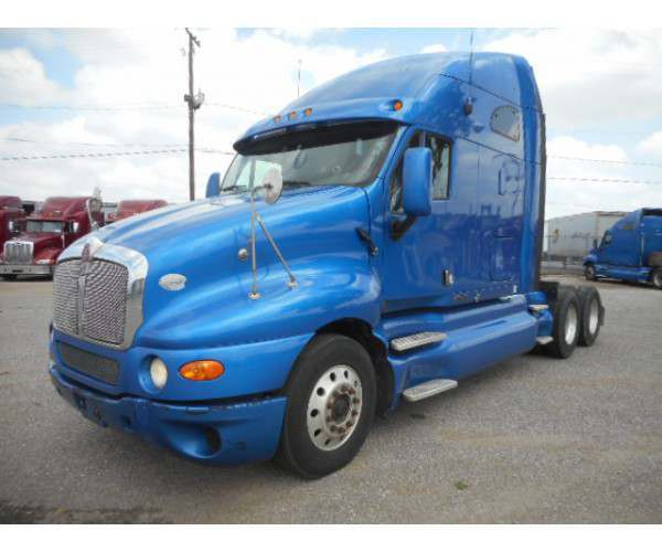 2009 Kenworth T2000 blue