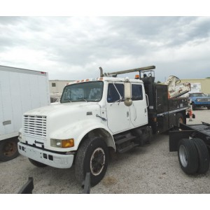 1998 International 4700 Crane Truck in NE