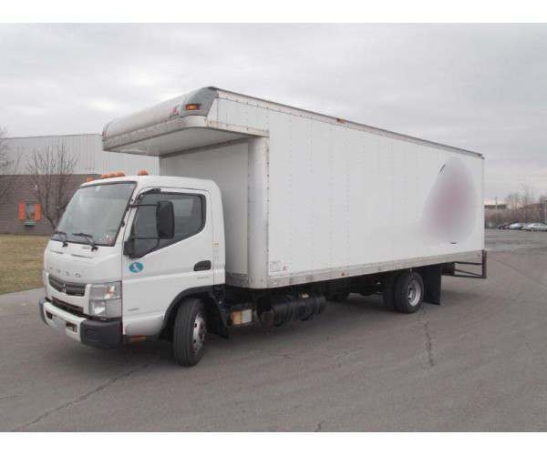 2013 Mitsubishi FE160, automatic, dry van, delivery, wholesale - NCL Truck Sales