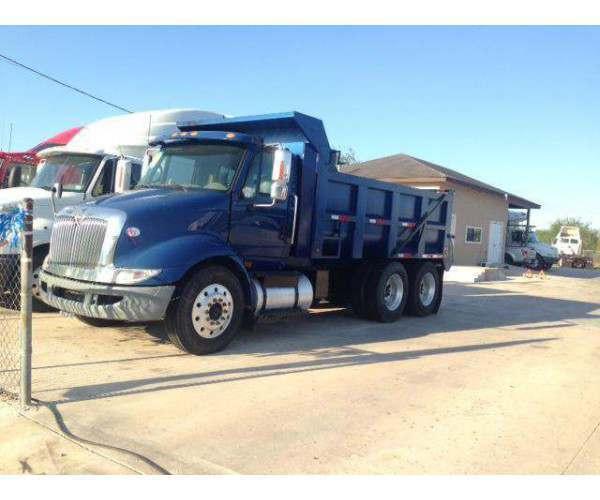 2010 International 8600 Dump Truck  2