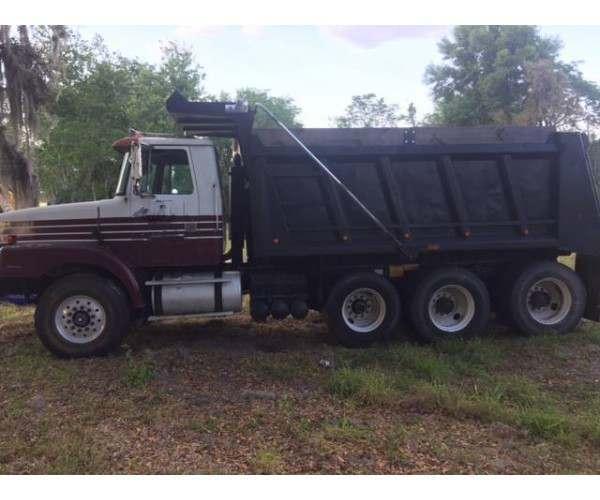 1999 Volvo WG64 Dump Truck 5