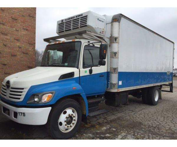 2005 Hino 338R Reefer Van in Indiana, wholesale, NCL Truck Sales