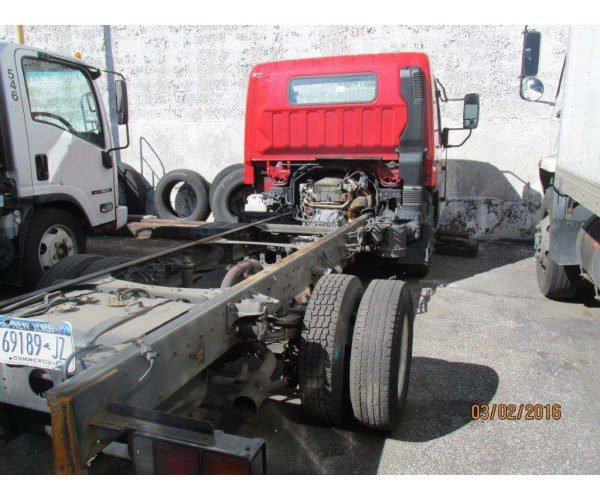 2010 Mitsubishi Fuso FE145 Chassis 12' - wholesale - NCL Truck Sales