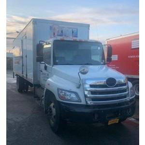 2012/13 Hino 338 Box Truck in NY