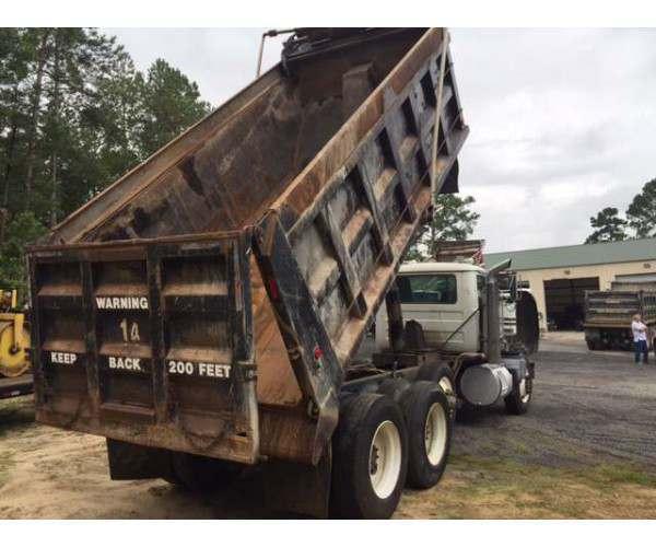 2003 mack rd 688s dump truck sold sku j2013. Black Bedroom Furniture Sets. Home Design Ideas