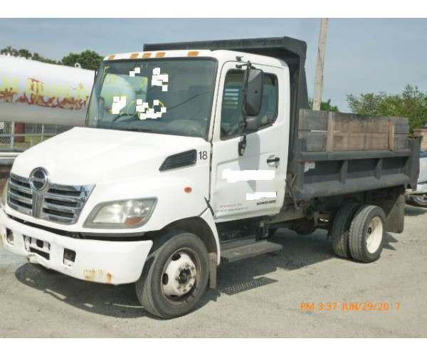 2006 Hino 185 Dump Truck in DE