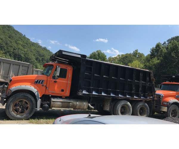2007 Mack CTP713 Dump Truck in PA