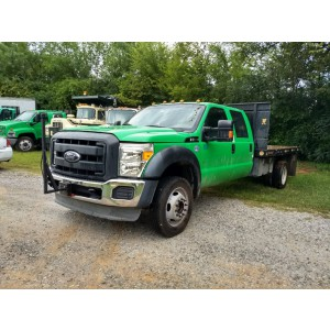 2012 Ford F550 Flatbed Truck
