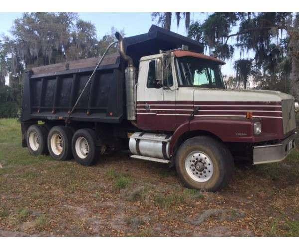 1999 Volvo WG64 Dump Truck 4