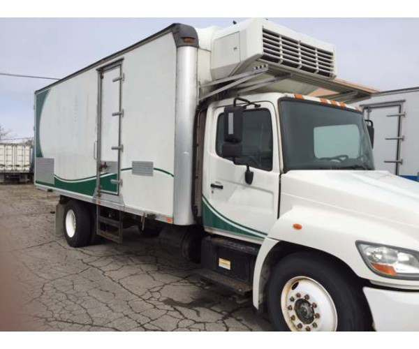 2008 Hino 338R Reefer Van 22' with Thermoking in Indiana, wholesale, NCL Truck Sales