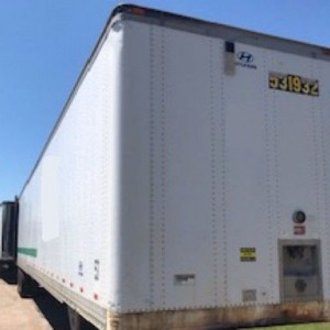 2005 Hyundai Dry Van Trailer in AL