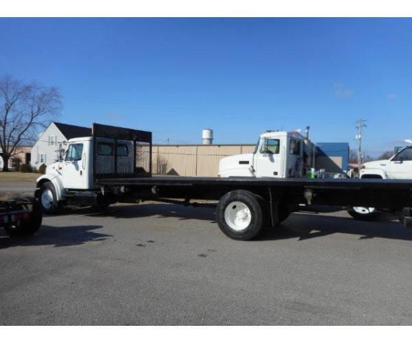 1997 International 4700 Flatbed Truck6