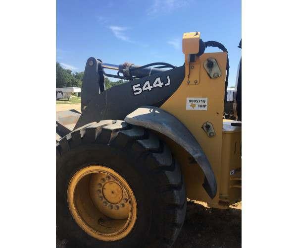 2005 John Deere 544J Wheel Loader in TX