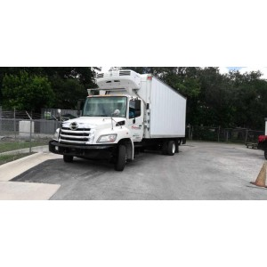 2012 Hino 258LP Reefer Truck in FL