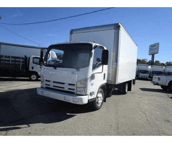 2011 Isuzu NPR Box Truck In RI ...
