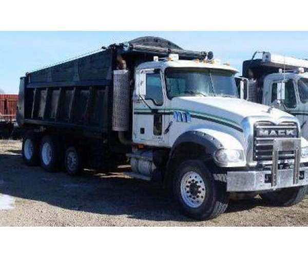 2008 Mack GU713 Dump Truck1