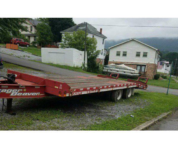 2009 20 ton Eager Beaver Trailer 5