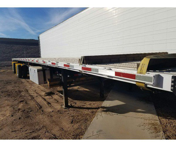 2010 Direct Trailer Flatbed Trailer 4
