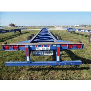 2008 Singamas Container Trailer in TX