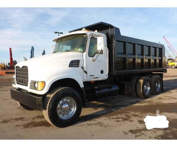 2003 Mack CV713 Dump Truck 1