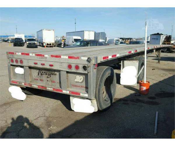 2006 Renegade Flatbed Trailer 2