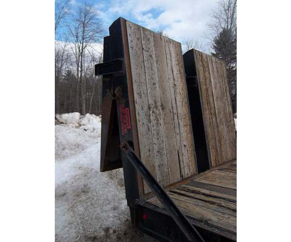 2007 Carolina 35 Ton Lowboy trailer in Maine, wholesale, NCL Truck Sales