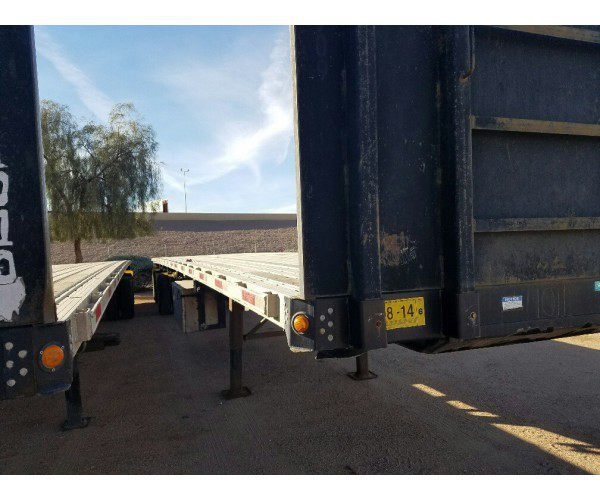 2010 Direct Trailer Flatbed Trailer 7