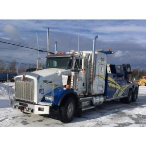 2009 Kenworth T800 Wrecker Truck in Canada