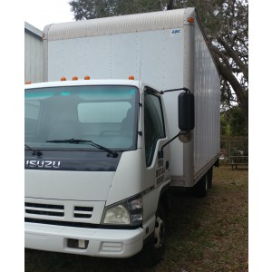 2006 Isuzu NPR Box Truck in FL