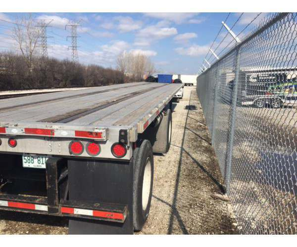 2013 Utility Flatbed Trailer 1