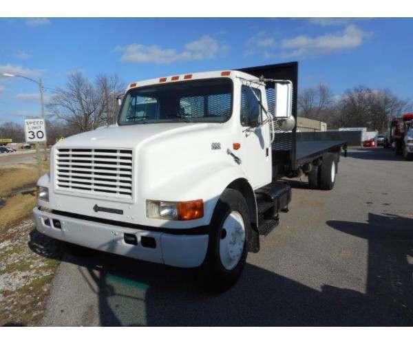 1997 International 4700 Flatbed Truck1