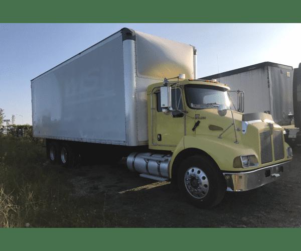 2003 Kenworth T300 Box Truck in IL