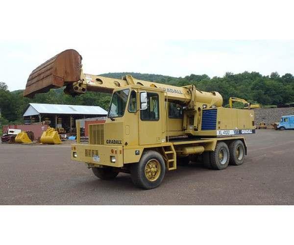1996 Gradall XL4100 in NY