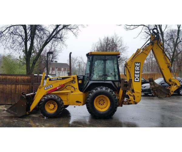 2000 Deere 410E Loader Backhoe2