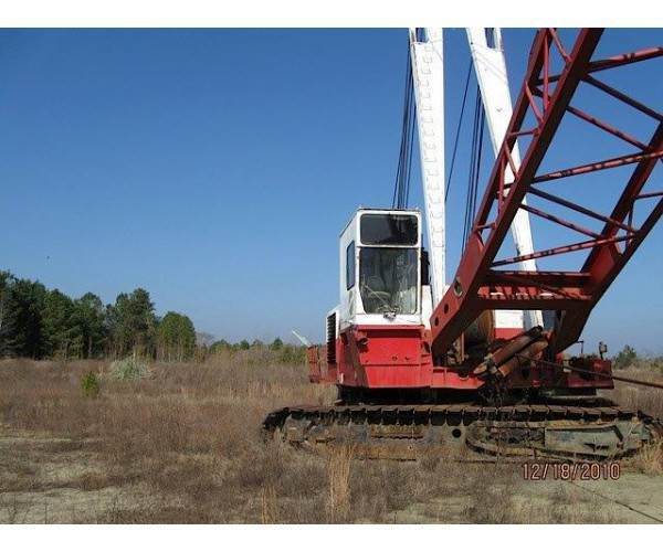 1977 Manitowoc 4600 Vicon crawler crane CAT D398 engine 120' boom in Illinois, wholesale, NCL Truck Sales