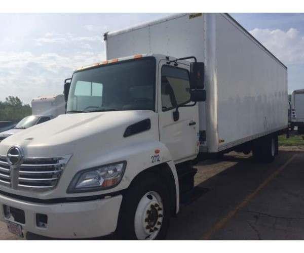 2011 Hino 338 Box Truck 1