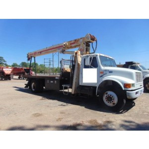 1999 International 4700 Boom Truck in TX
