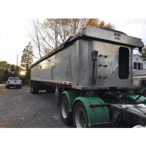 2015 Mac End Dump Trailer in NY