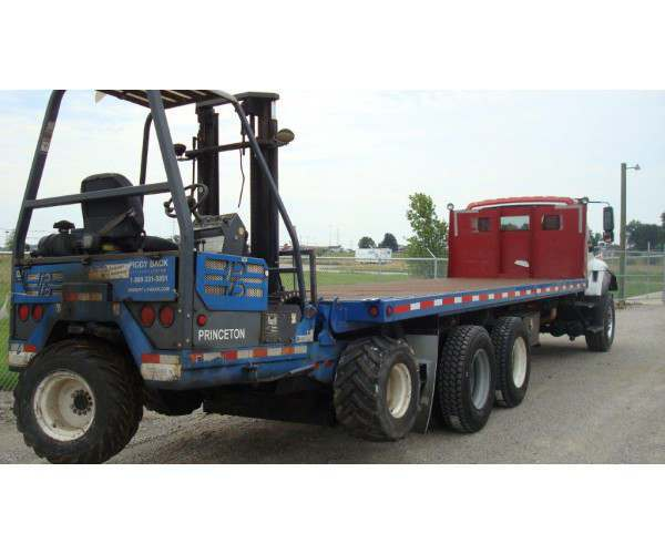 2005 International 7600 Flatbed Truck in IN