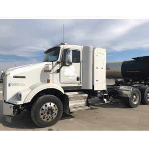 2015 Kenworth T800 CNG Day Cab