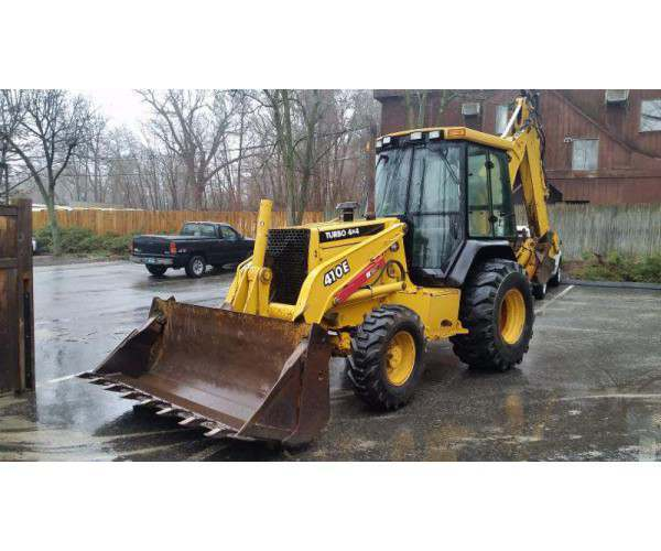 2000 Deere 410E Loader Backhoe3