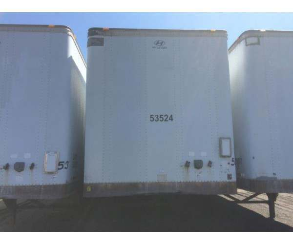 "2001 Hyundai 53""x102"" Dry Vans, NCL Truck Sales, buy used trailers / vans in New York"