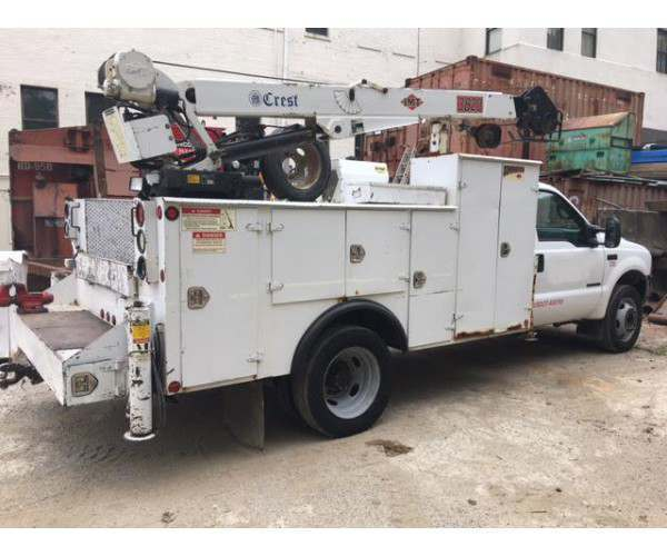 2002 Ford 550 Service Truck in NY