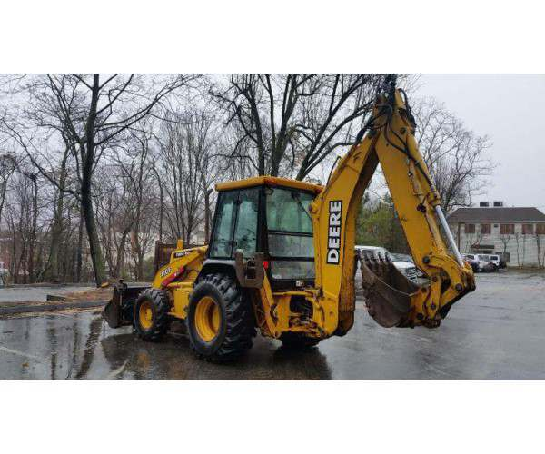 2000 Deere 410E Loader Backhoe4