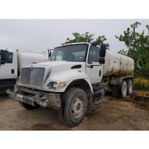 2007 International 7400 Water Tank Truck in TX