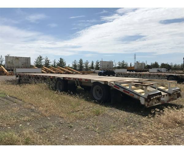 2007 Transcraft Drop Deck Trailer in IN