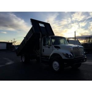 2009 International 7400 Flatbed-Dump Truck
