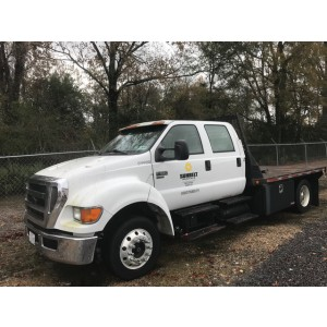 2007 Ford F650 Flatbed in TX
