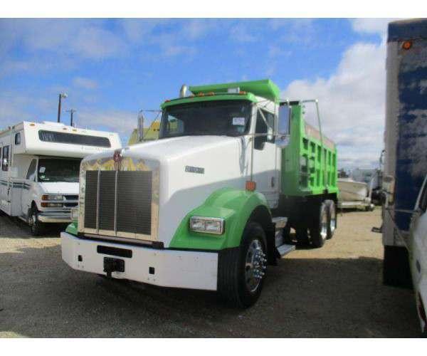 2011 Kenworth T800 Dump Truck 6